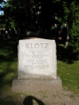 Grave of Max Klotz and family, Beechwood Cemetery, Ottawa